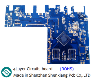 4Layer blue ink pcb