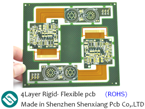 4Layer Rigid- Flexible pcb